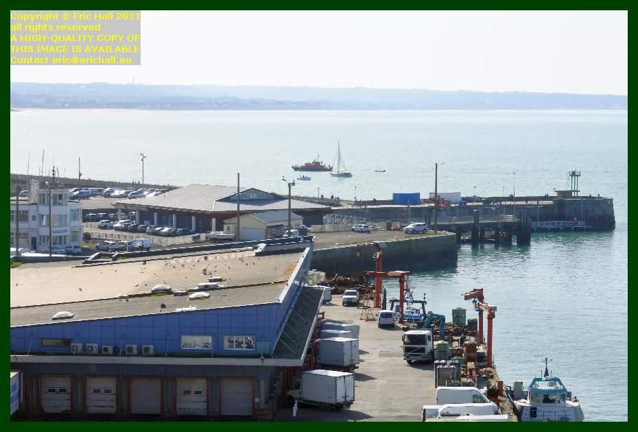 la grande ancre lifeboat yacht port de Granville harbour Manche Normandy France Eric Hall