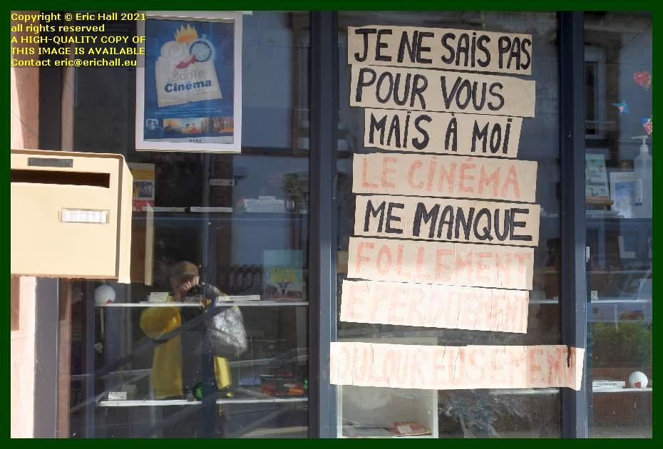 graffiti cinema select boulevard de hauteserve Granville Manche Normandy France Eric Hall