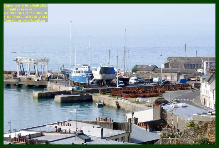 anakena hermes 1 lys noir aztec lady chantier navale port de Granville harbour Manche Normandy France Eric Hall