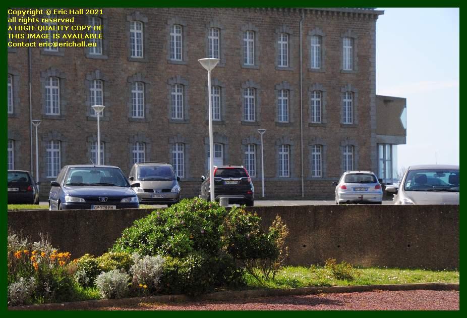 car park place d'armes Granville Manche Normandy France Eric Hall