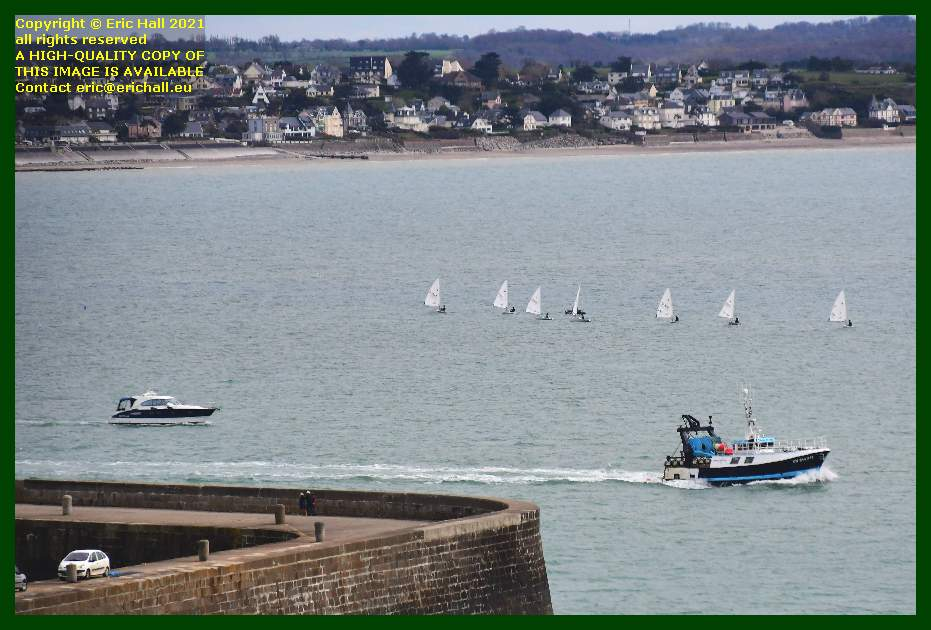 sailing school trawler pleasure cruiser baie de mont st michel Granville Manche Normandy France Eric Hall