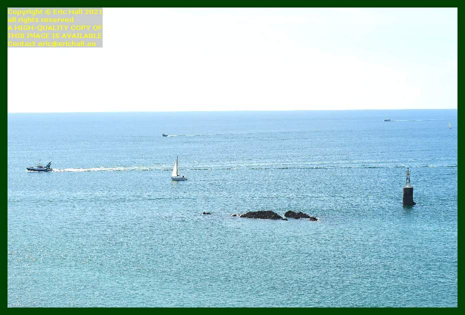 trawler yacht english channel Granville Manche Normandy France Eric Hall