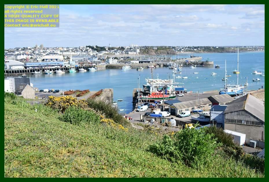 fishing boats port de Granville harbour Manche Normandy France Eric Hall