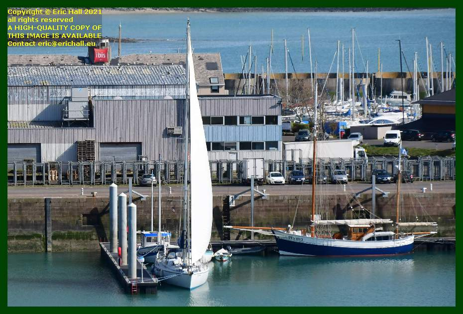 spirit of conrad charles marie port de Granville harbour Manche Normandy France Eric Hall