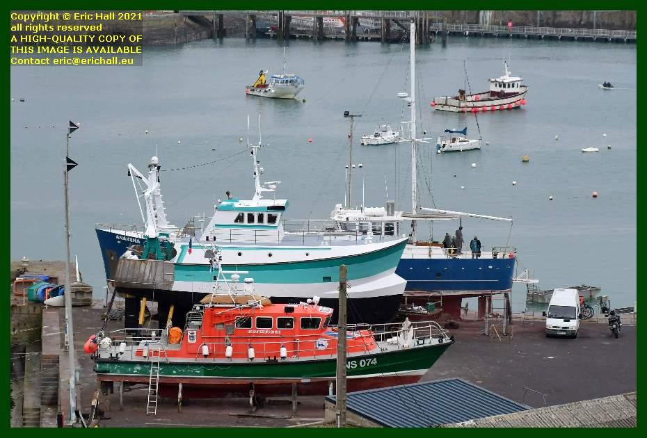 anakena hermes 1 notre dame de cap lihou chantier navale port de Granville harbour Manche Normandy France Eric Hall