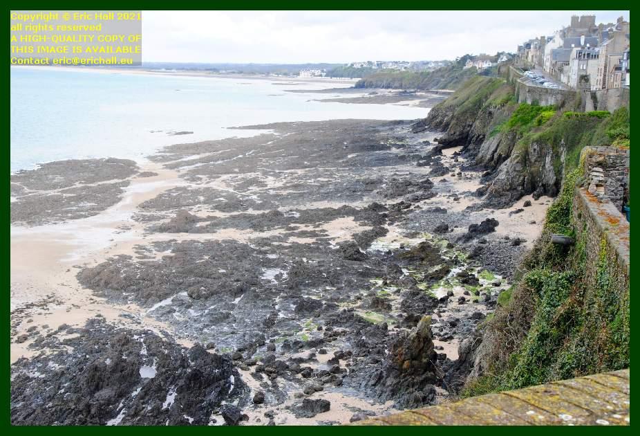 beach rue du nord Granville Manche Normandy France Eric Hall