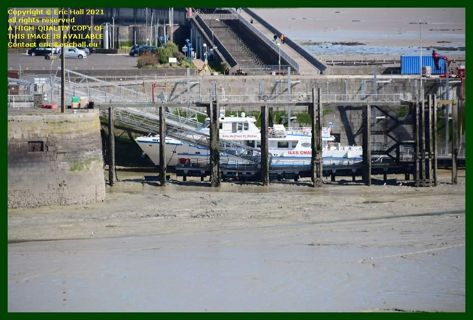 joly france ferry port de Granville harbour Manche Normandy France Eric Hall