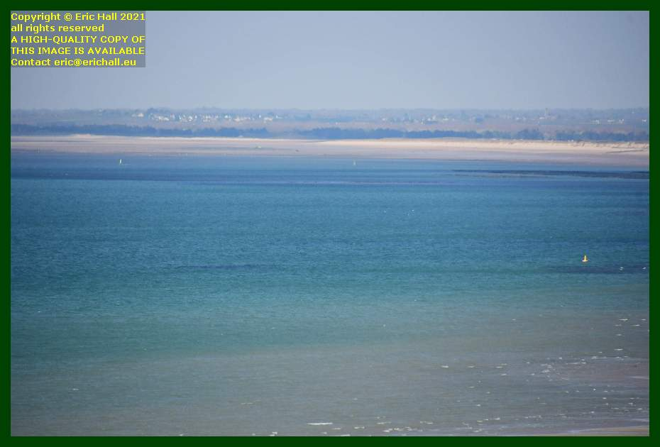 buoys baie de Granville Manche Normandy France Eric Hall