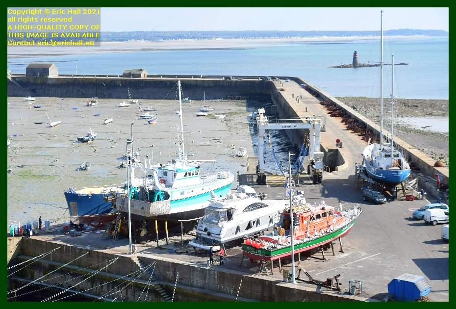 anakena hermes 1 nyx 3 notre dame du cap lihou aztec lady chantier navale port de Granville harbour Manche Normandy France Eric Hall