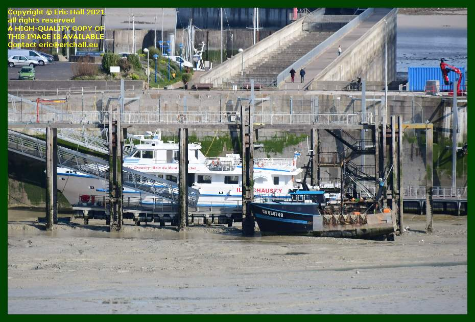 trawler joly france ferry port de Granville harbour Manche Normandy France Eric Hall