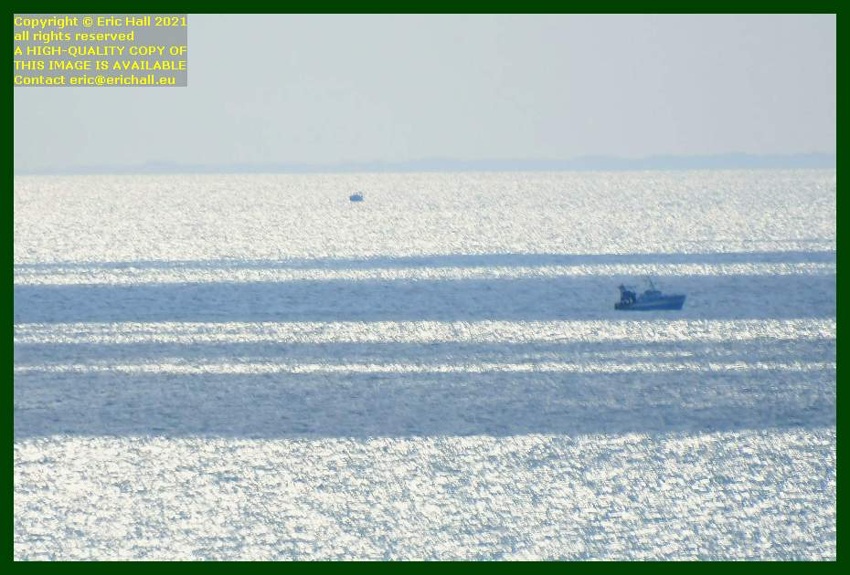 trawler in english channel Granville Manche Normandy France Eric Hall