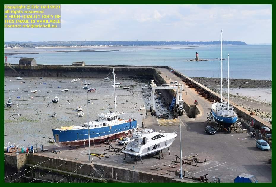 anakena nyx 3 aztec lady chantier navale port de Granville harbour Manche Normandy France Eric Hall