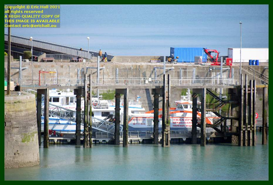 joly france chausias ferry port de Granville harbour Manche Normandy France Eric Hall