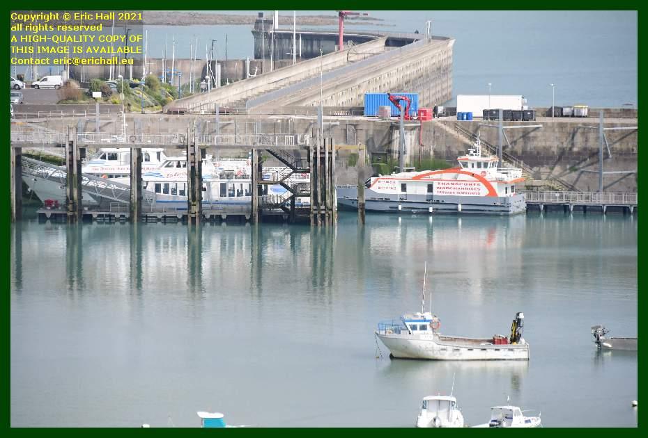 joly france chausiais ferry port de Granville harbour Manche Normandy France Eric Hall