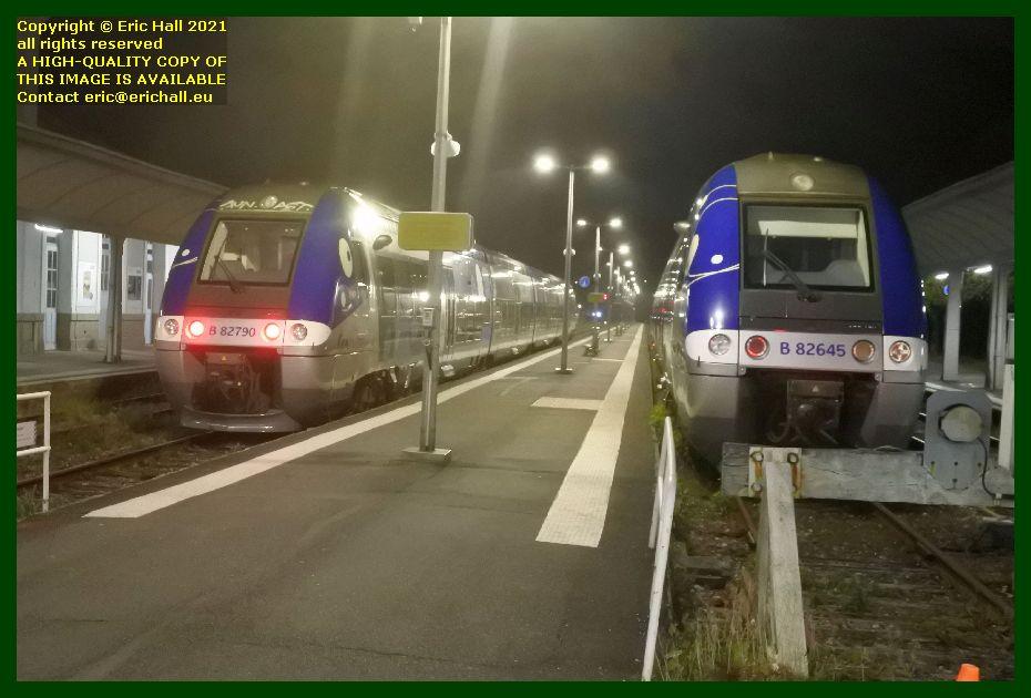 82645 82790 Bombardier B82500 gare de Granville Manche Normandy France Eric Hall