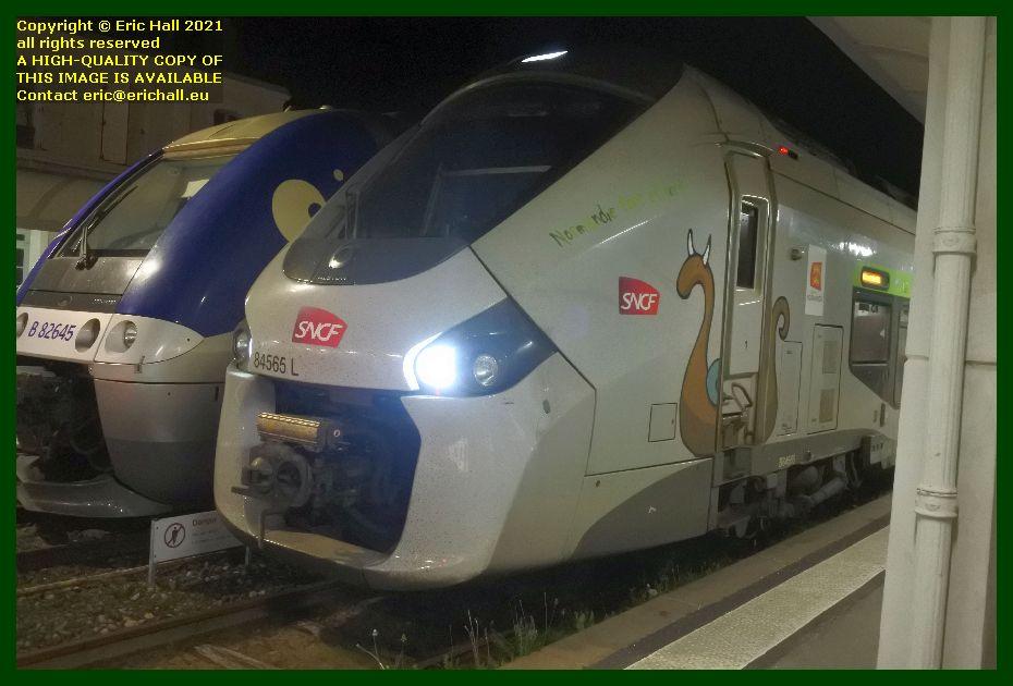 84565 GEC Alstom Regiolis gare de Granville Manche Normandy France Eric Hall