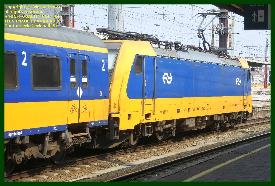 nederlandse spoorwegen class e186 locomotive 9184 1186 003 gare du midi brussels belgium Eric Hall