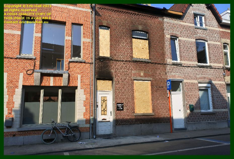 fire damaged house dekenstraat leuven belgium Eric Hall
