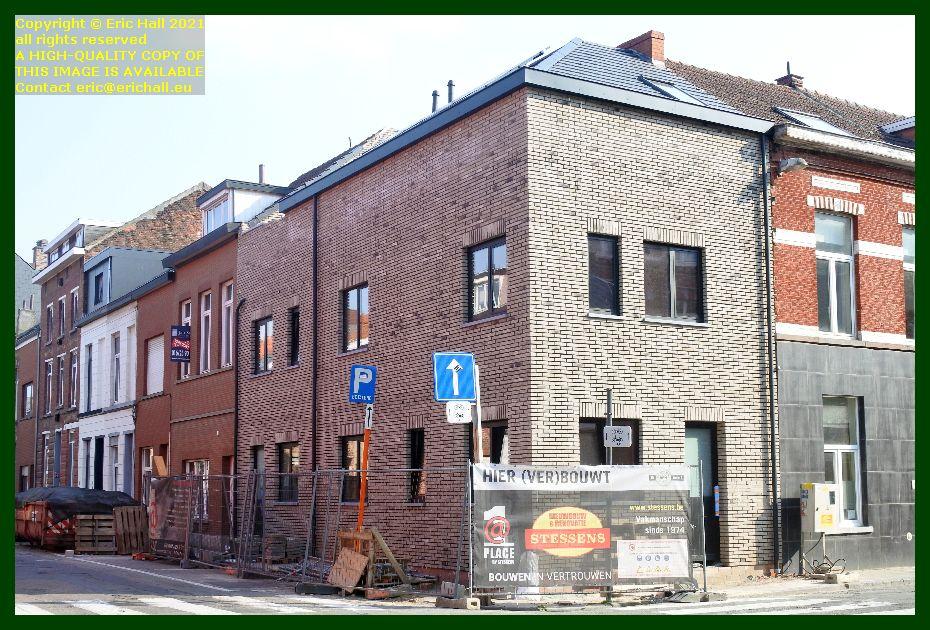 house rebuilding dekenstraat leuven belgium Eric Hall