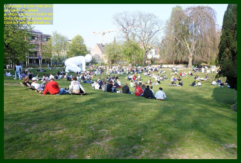 crowds st donatuspark leuven belgium Eric Hall