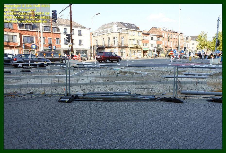 road junction naamsestraat naamsevest under repair leuven belgium Eric Hall