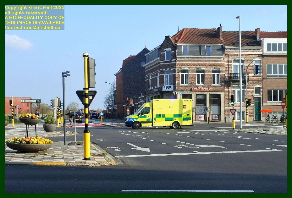 ambulance Erasme Ruelensvest leuven belgium Eric Hall