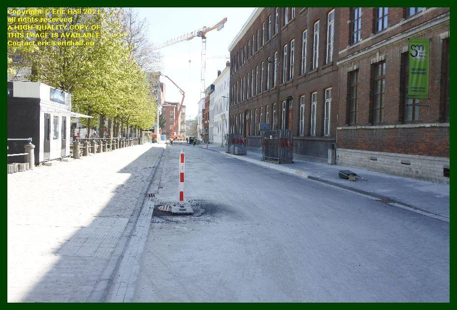 roadworks biezenstraat leuven belgium Eric Hall