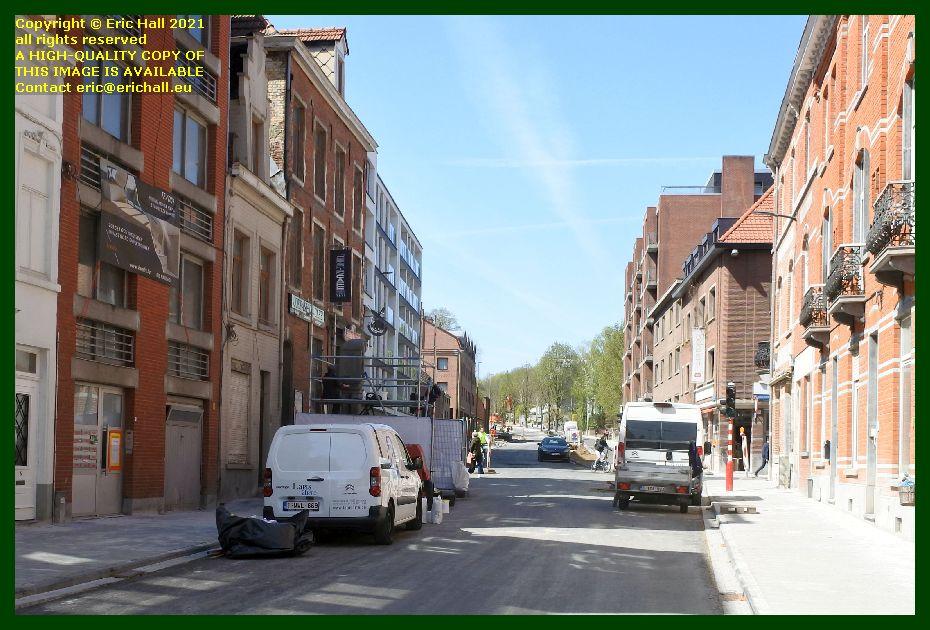 roadworks sint huberstusstraat leuven belgium Eric Hall