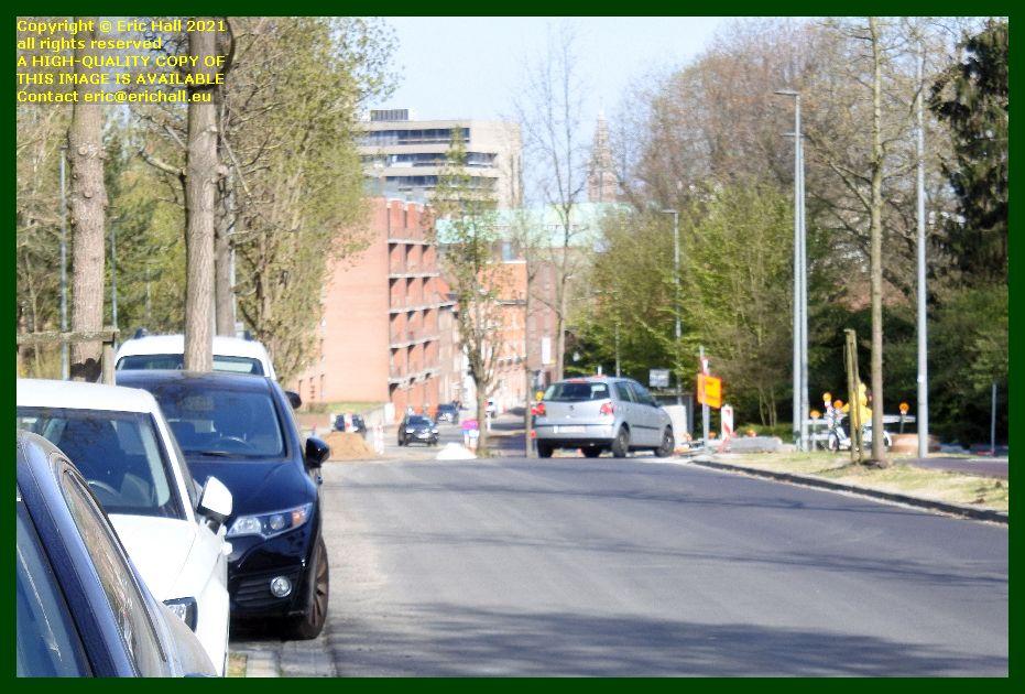 roadworks monseigneur van waeyenberghlaan leuven belgium Eric Hall