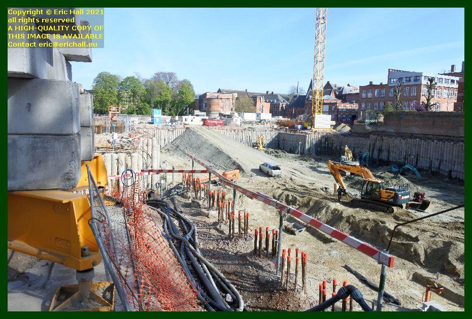 construction site kapicijnenvoer leuven belgium Eric Hall