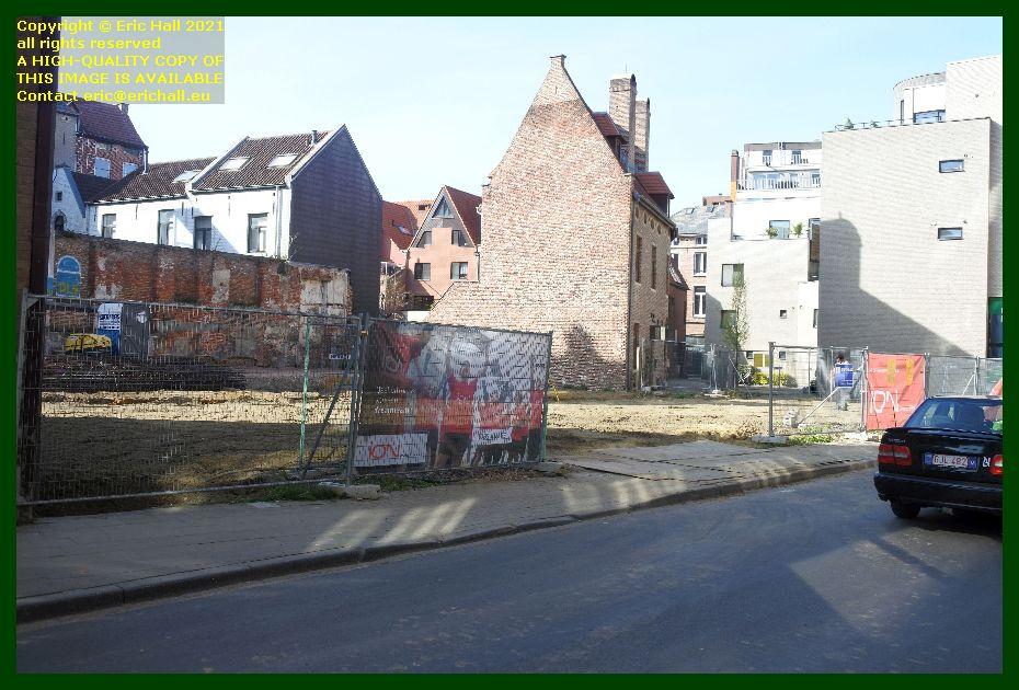 construction site zongang kapucijnenvoer leuven belgium Eric Hall