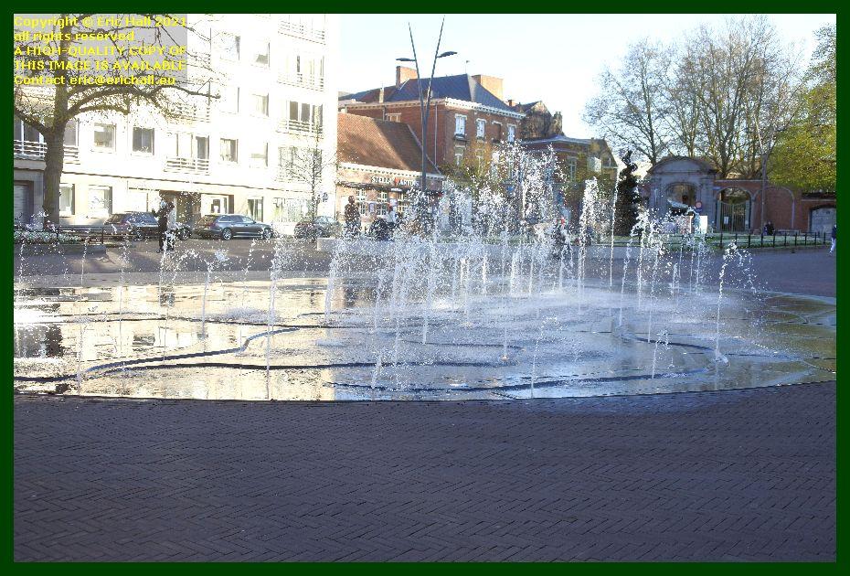 fountain herbert hooverplein leuven belgium Eric Hall