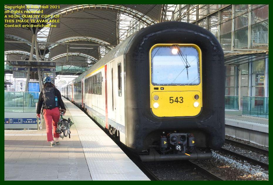 automotrice am96 multiple unit 543 gare de leuven railway station belgium Eric Hall