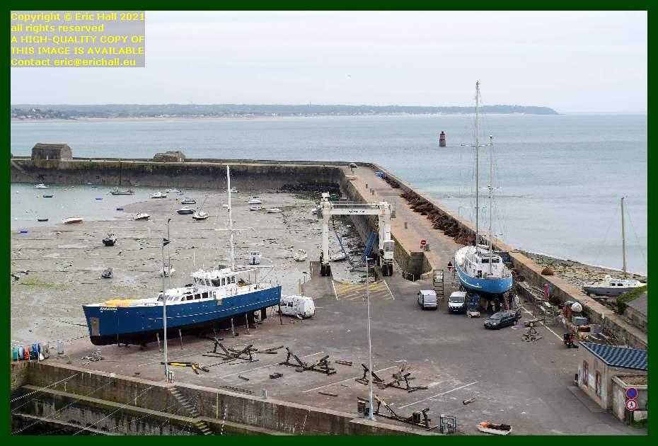 anakena aztec lady chantier navale port de Granville harbour Manche Normandy France Eric Hall