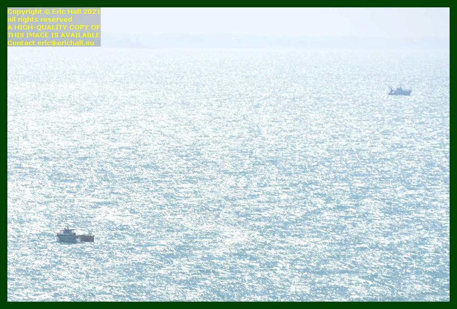 fishing boats baie de mont st michel Granville Manche Normandy France Eric Hall