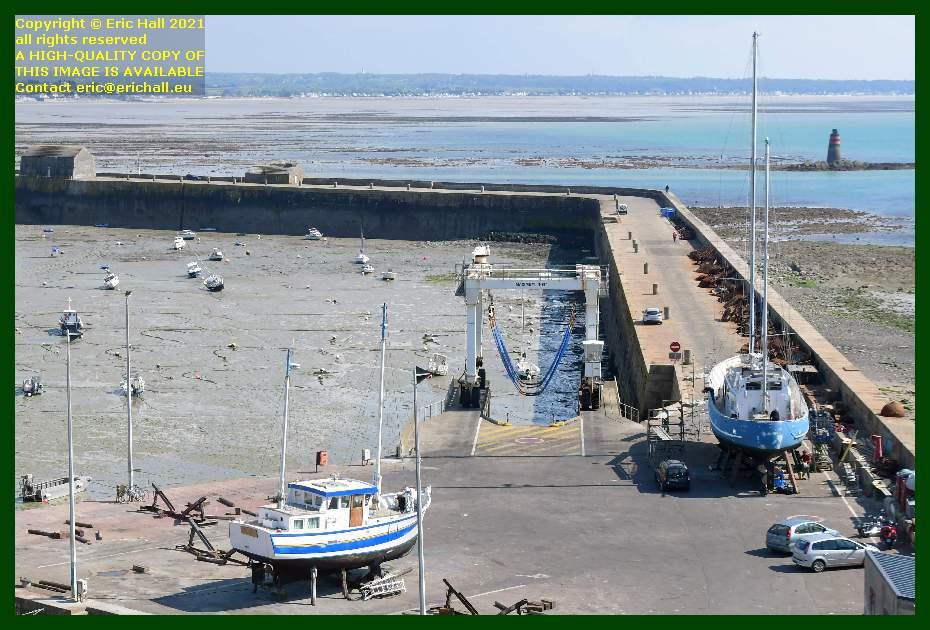 aztec lady fishing boat chantier navale port de Granville harbour Manche Normandy France Eric Hall