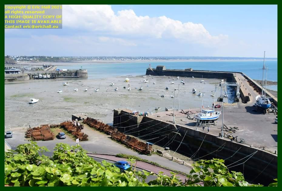 aztec lady port de Granville harbour Manche Normandy France Eric Hall