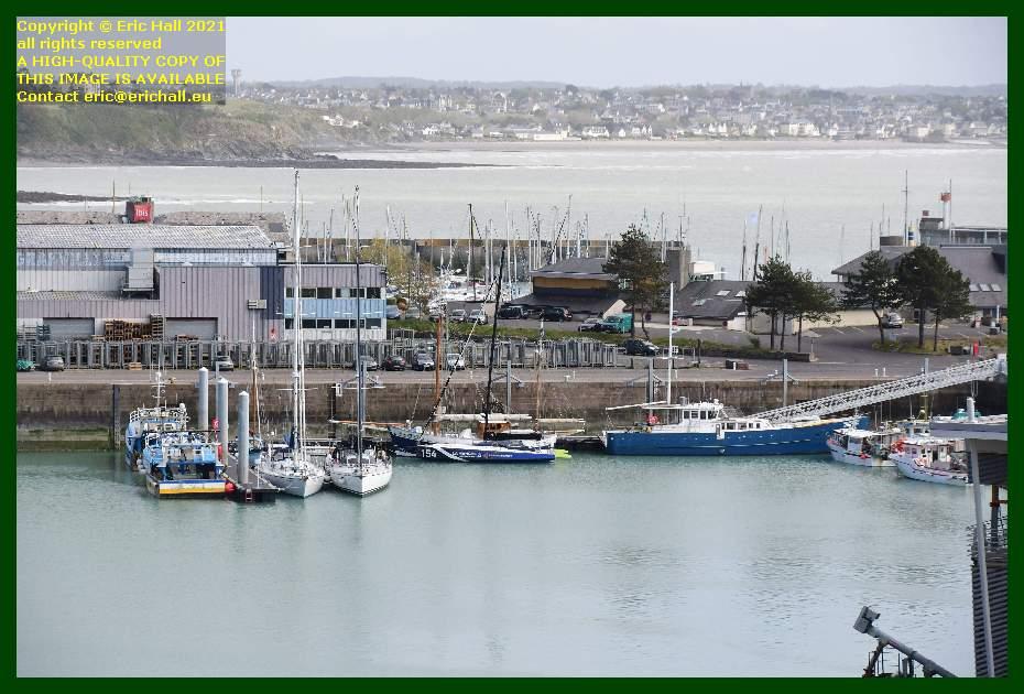 spirit of conrad black mamba anakena port de Granville harbour Manche Normandy France Eric Hall