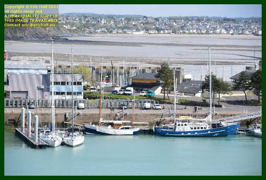 spirit of conrad charles marie aztec lady port de Granville harbour Manche Normandy France Eric Hall