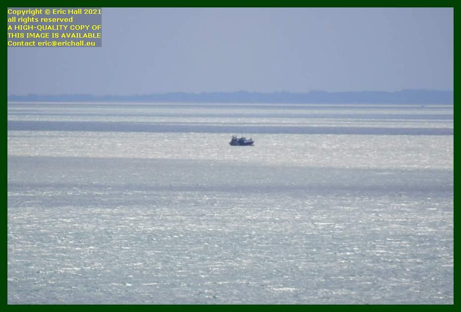 trawler baie de mont st michel Granville Manche Normandy France Eric Hall