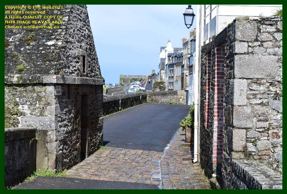 rue du nord Granville Manche Normandy France Eric Hall