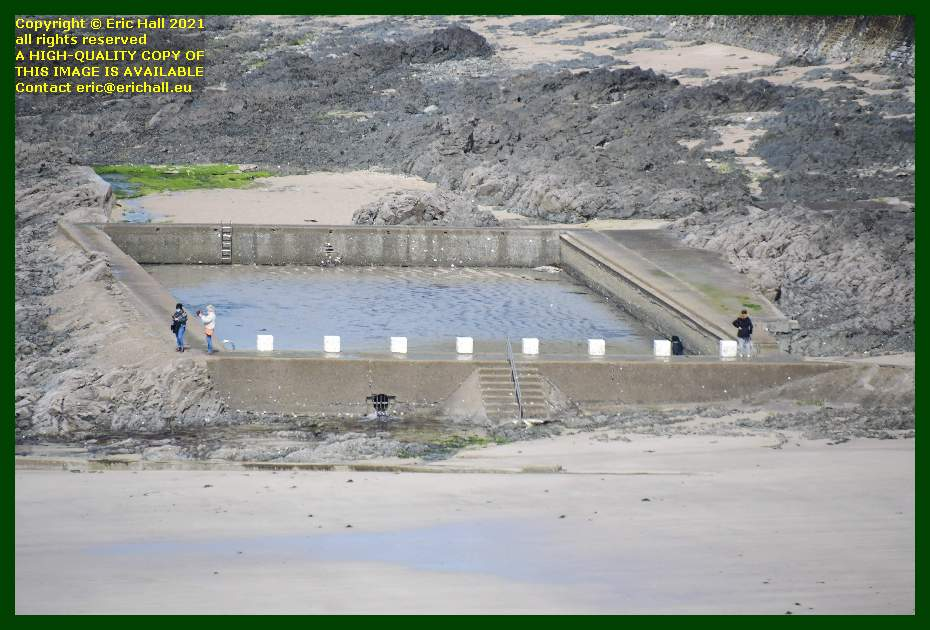 tidal swimming pool plat gousset Granville Manche Normandy France Eric Hall