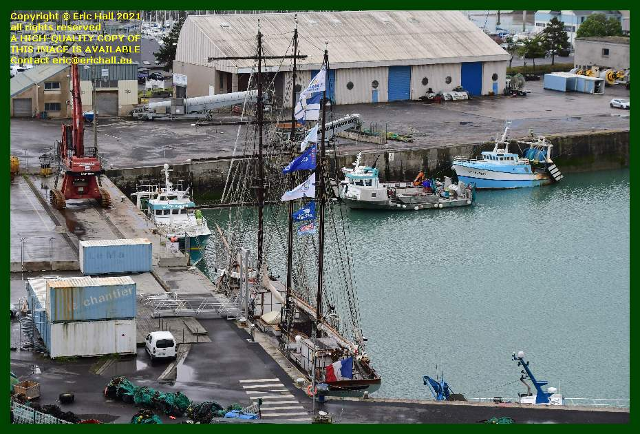 marite coelacanthe la grande ancre philcathane port de Granville harbour Manche Normandy France Eric Hall