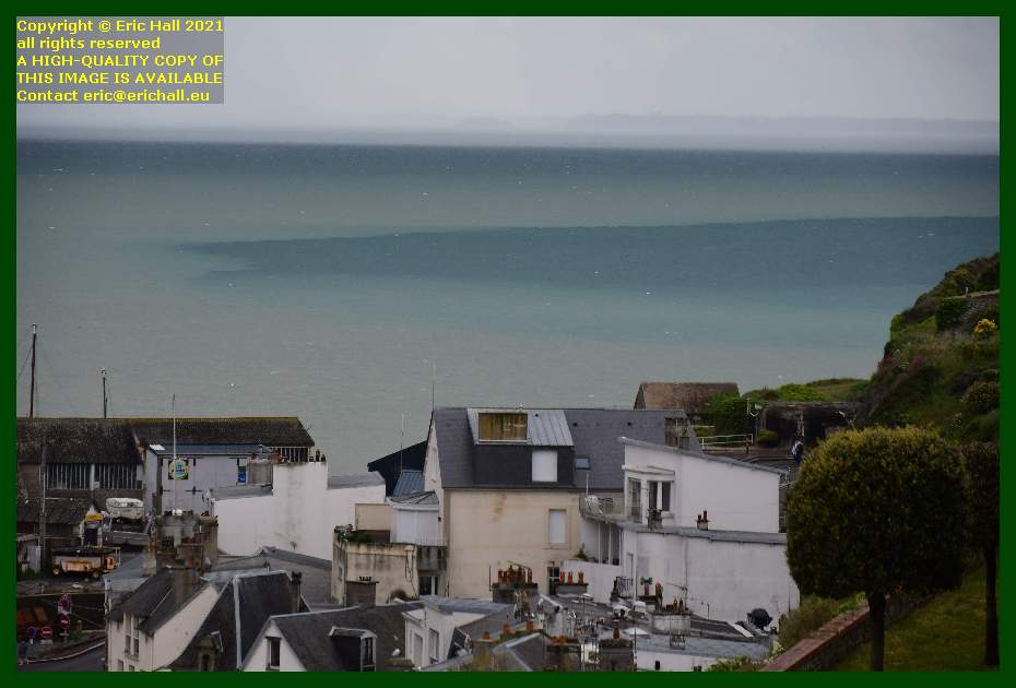 different colours of the sea pointe du roc Granville Manche Normandy France Eric Hall