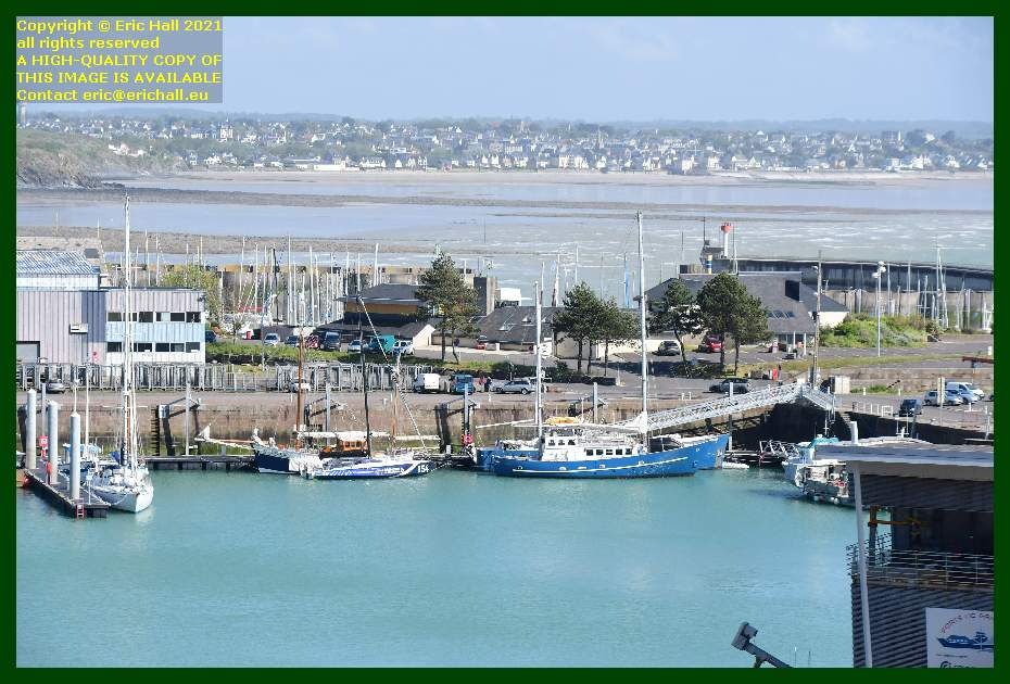 spirit of conrad charles marie black mamba anakena aztec lady la grande ancre port de Granville harbour Manche Normandy France Eric Hall