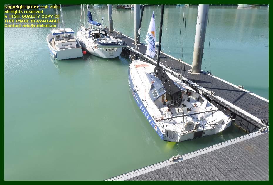 spirit of conrad black mamba port de Granville harbour Manche Normandy France Eric Hall