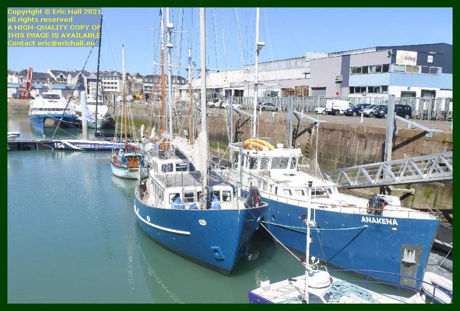 victor hugo black mamba aztec lady anakena port de Granville harbour Manche Normandy France Eric Hall