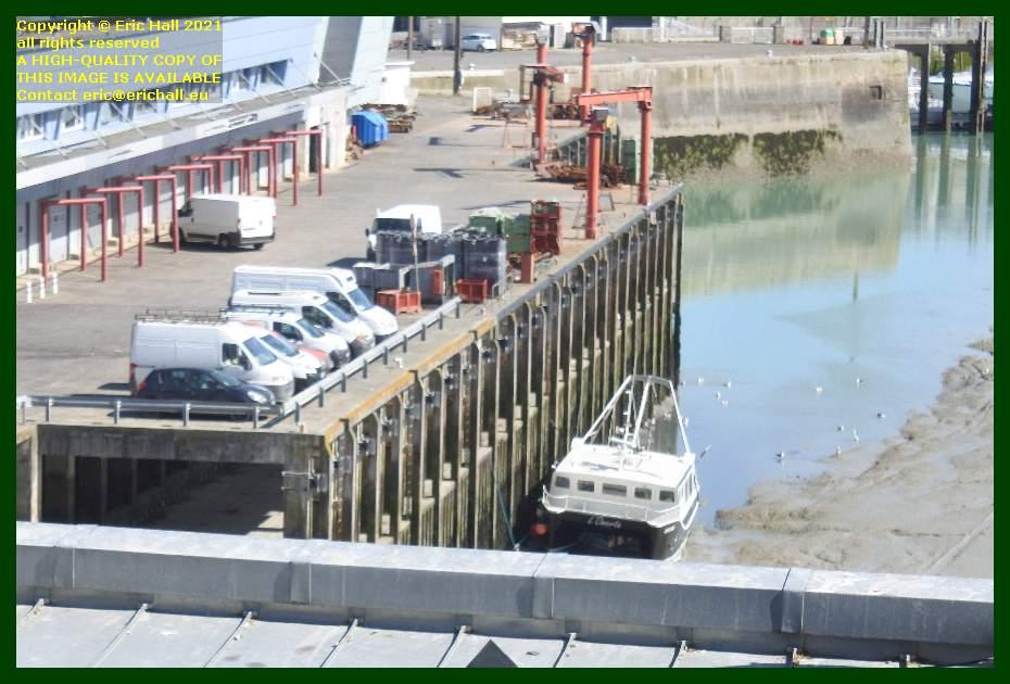 fishing boat l'omerta port de Granville harbour Manche Normandy France Eric Hall
