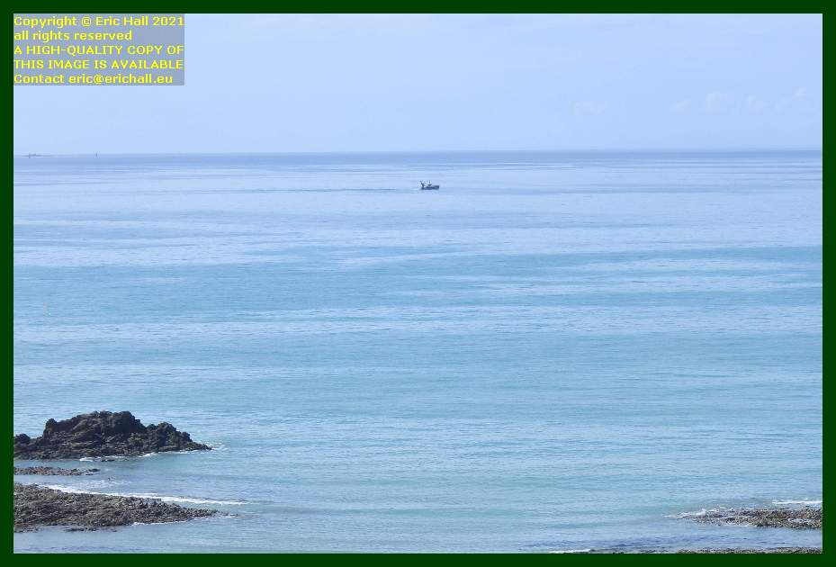 fishing boat english channel baie de Granville Manche Normandy France Eric Hall