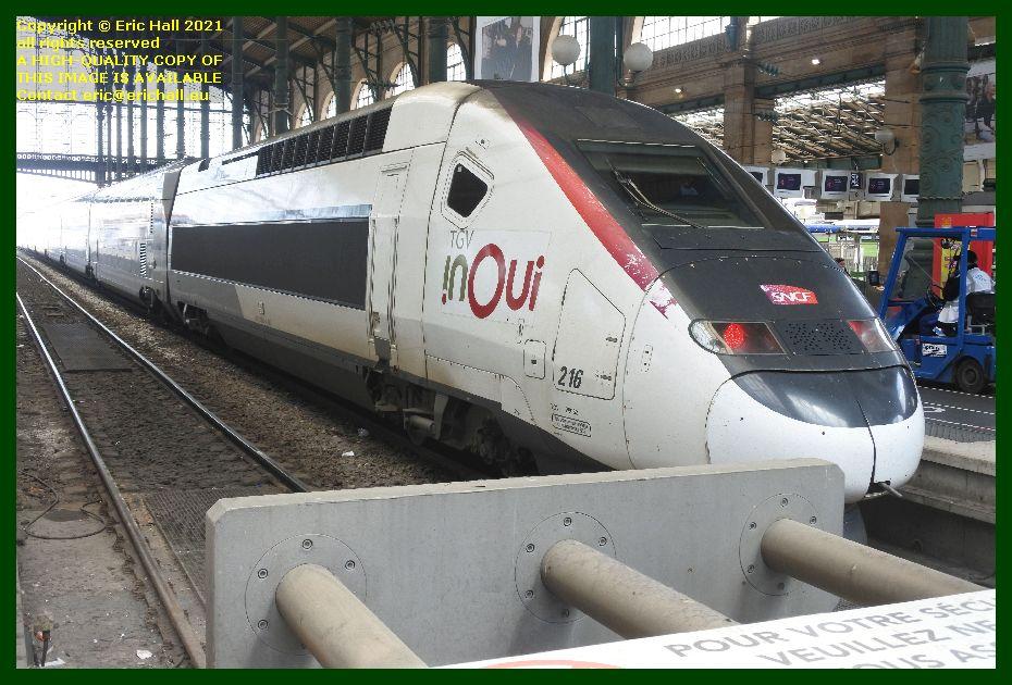 TGV Reseau Duplex 216 gare du nord paris France Eric Hall